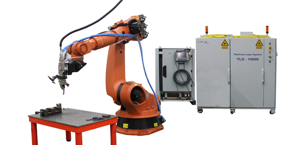 Robot Laser Welding Cell With Seam Tracking Function For U